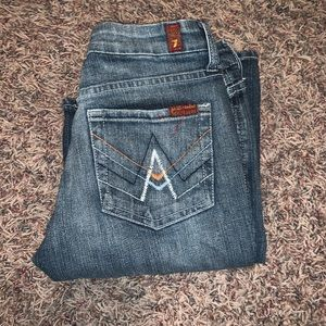 "25"" 7 for All Mankind BootCut Jeans"